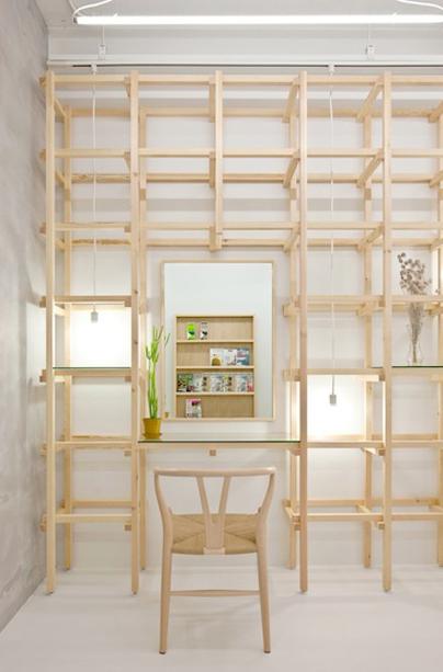 # end...Link 空間連結:Yasunari Tsukada在日本大阪的簡約木框架沙龍! 6