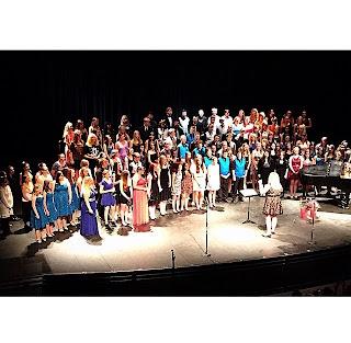 Combined Ensembles @ The Pops Concert 5-12-15