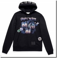 Dark Disney Sleepy Hoodie in Black (34218Blk)