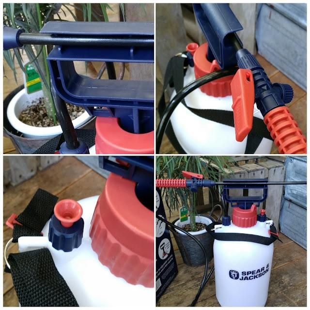 S&Jポンプスプレー,蓄圧式噴霧器,SPEAR&JACKSON
