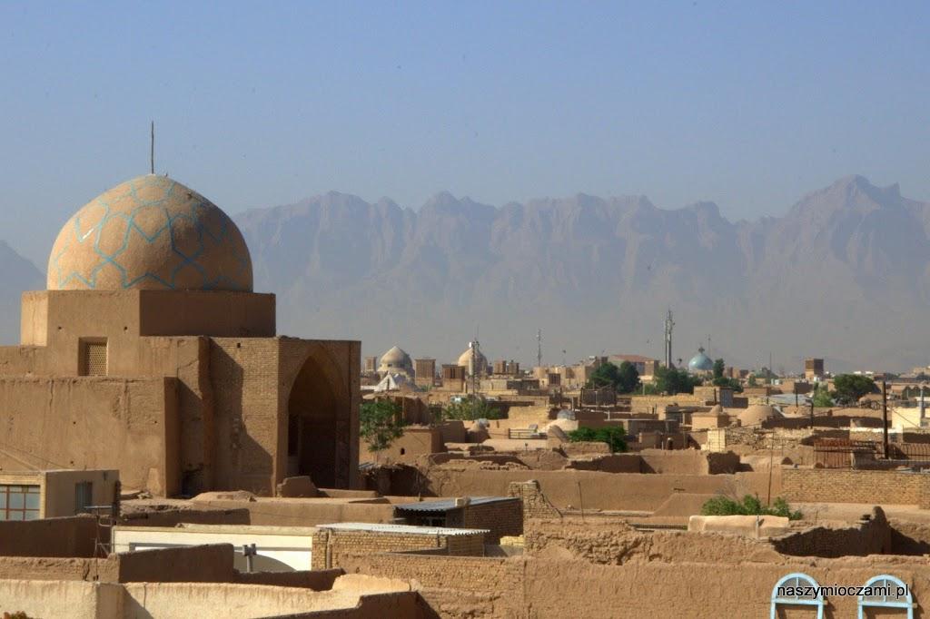 Widok z dachu szkoły koranicznej
