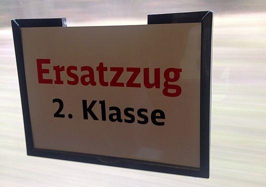 Fahrrad-Abteil im InterCity von Passau nach Nürnberg