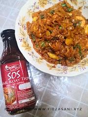 Dapur FiezaSani - Resipi Kuey Teow Goreng Simple Dengan Sos Char Koay Teow