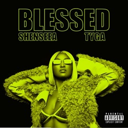 Capa Blessed – Shenseea feat. Tyga