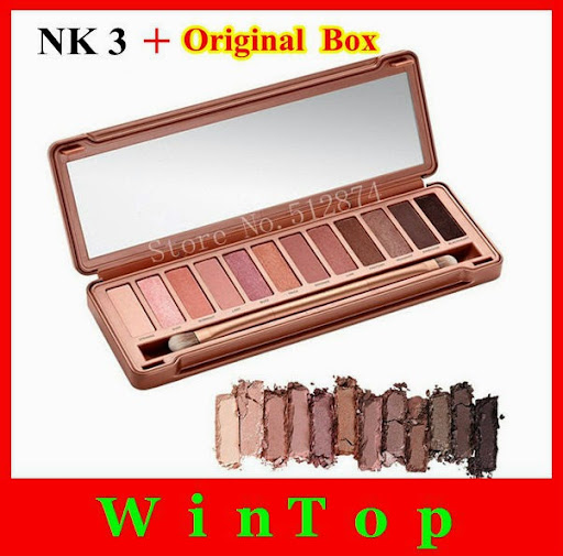 brand naked palette eye shadow 12 color nk1 2 3 eyeshad