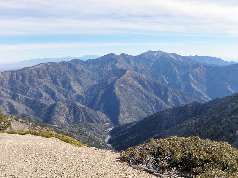 Mount Baden-Powell • View of Mount Baldy