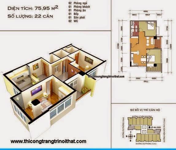 Thi công nội thất căn hộ Quận 3
