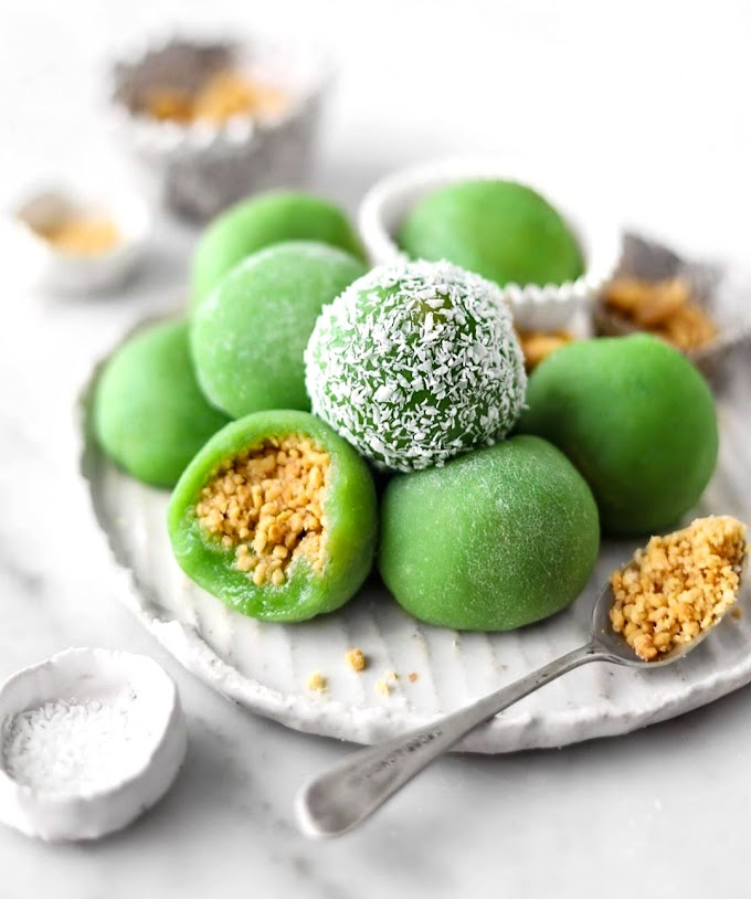 Peanut Mochi Recipe | Breakfast Care