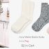 Express Cozy Socks only $2 (Reg $12) + Free Shipping