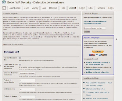 Better WP Security Detect