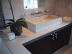 Crema Marfil marble basin