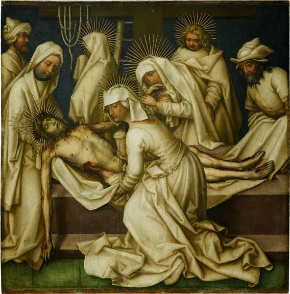 Hans Holbein the Elder - Graue Passion.Lamentation