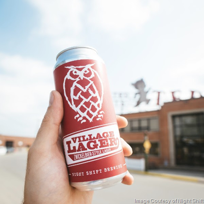 Night Shift Brewing Introduces Village Lager Cans