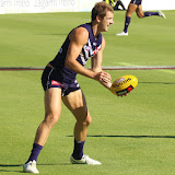 Fremantle v Melbourne NAB Cup 1 2015