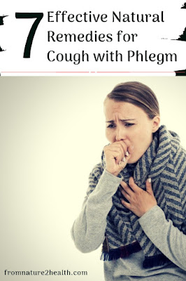 Garlic has been used to treat Cough with Phlegm, Ginger has been used to treat Cough with Phlegm, Honey has been used to treat Cough with Phlegm, Pineapple has been used to treat Cough with Phlegm,