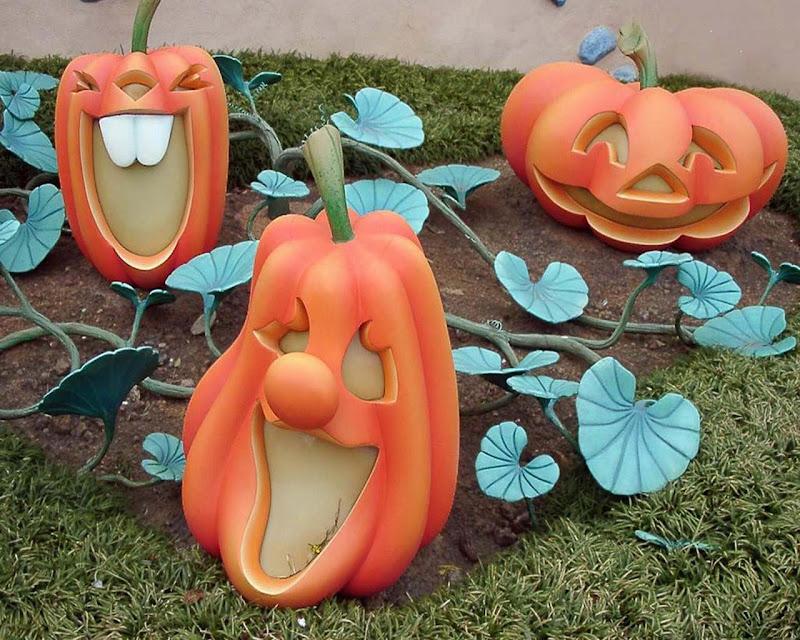 Pumpkins For Halloween, Halloween