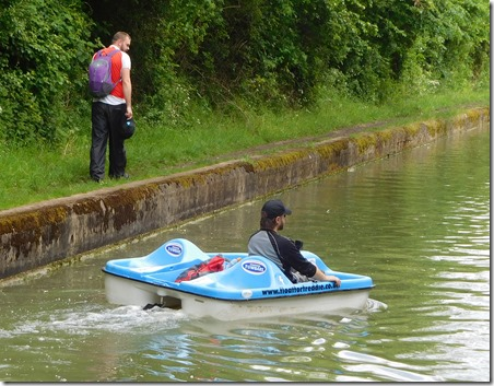 5 pedalo-ing all the way to London
