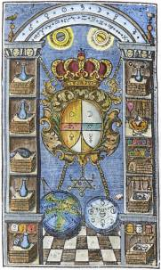 Fictuld Herman Azoth Et Ignis Leipzig 1749, Alchemical And Hermetic Emblems 2