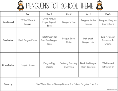 Penguin Tot School Theme