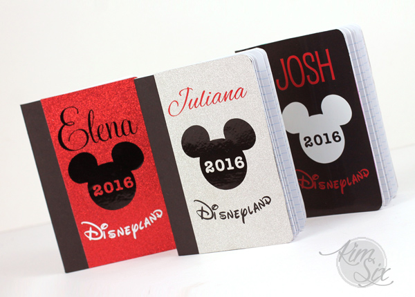 Make Your Own Disneyland Autograph books