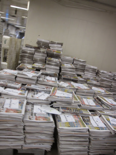 Newspapers in every language, ready for today's flights. Turkish Airlines.