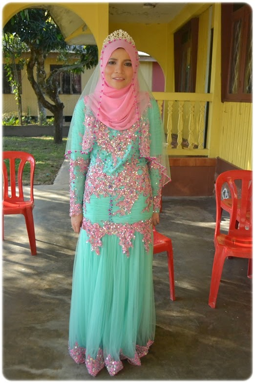 Baju Pengantin Hijau Turquoise Pink Brad Erva Doce Info