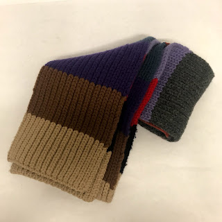 Prada Striped Scarf