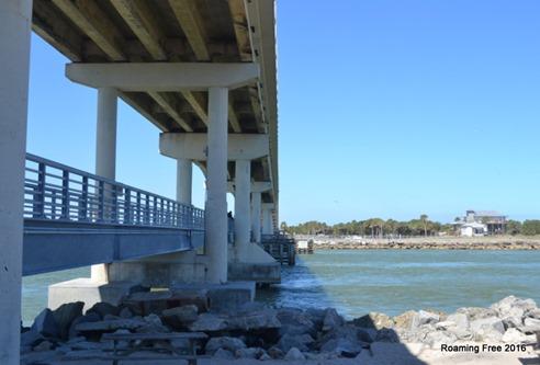 New fishing bridge