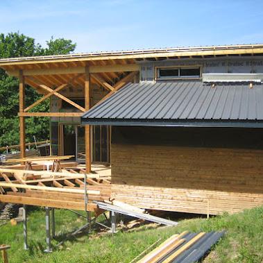 Mise en place de fondation de type techno pieux pour - Type de fondation pour maison ...
