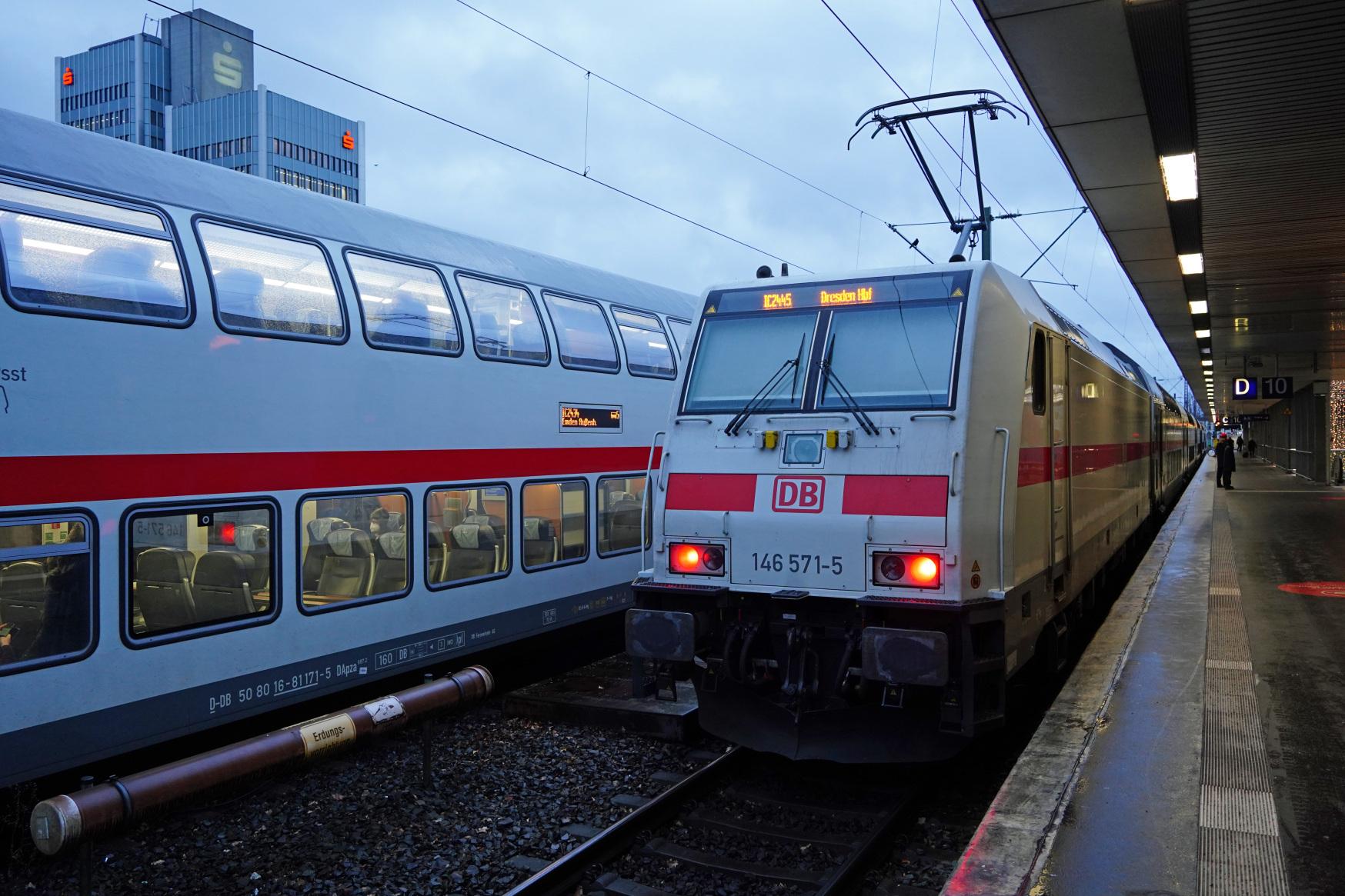 DB: Gleisarbeiten zwischen Hauptbahnhof und Karl-Wiechert-Allee
