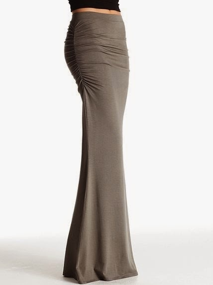 Fitted Maxi Skirt Style 2015