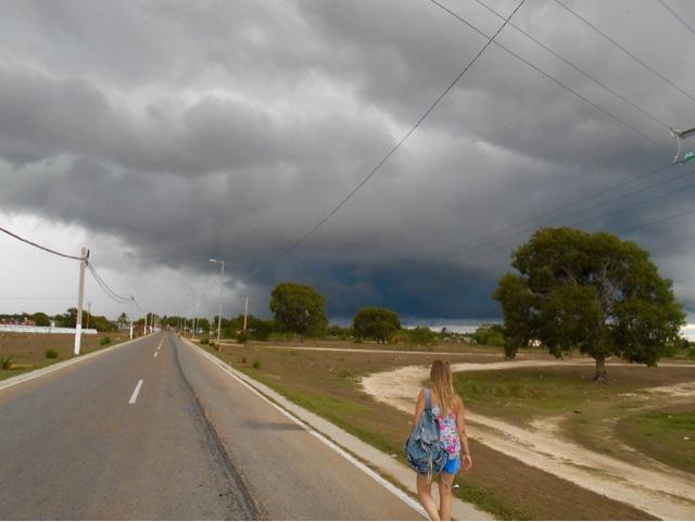 Cuba storm