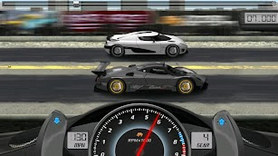 Drag Racing screenshot for Android