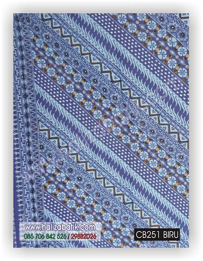 CB251%252520BIRU Motif Batik, Model Batik Terbaru, Baju Batik Online, CB251 Biru
