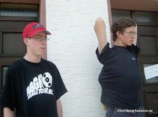 2003: Pfingstlager in Wiltz