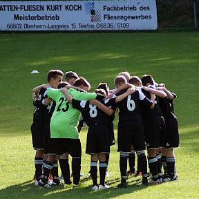 09.09.2015 D-Jugend Pokalspiel gegen JFG Saarlouis/Dillingen