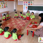 Fruits Salad Activity (Nursery) 21-3-2018