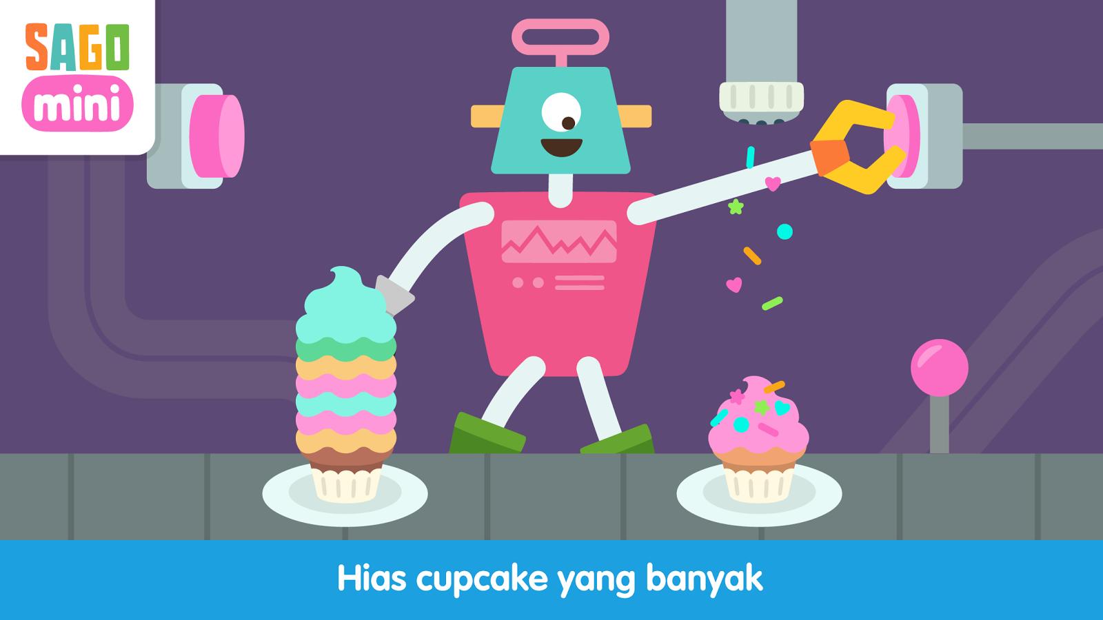 Pesta Robot Sago Mini Apl Android Di Google Play