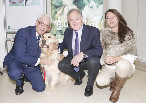 La terapia asistida con mascotas en los hospitales de Torrejón, Villalba y Gregorio Marañón