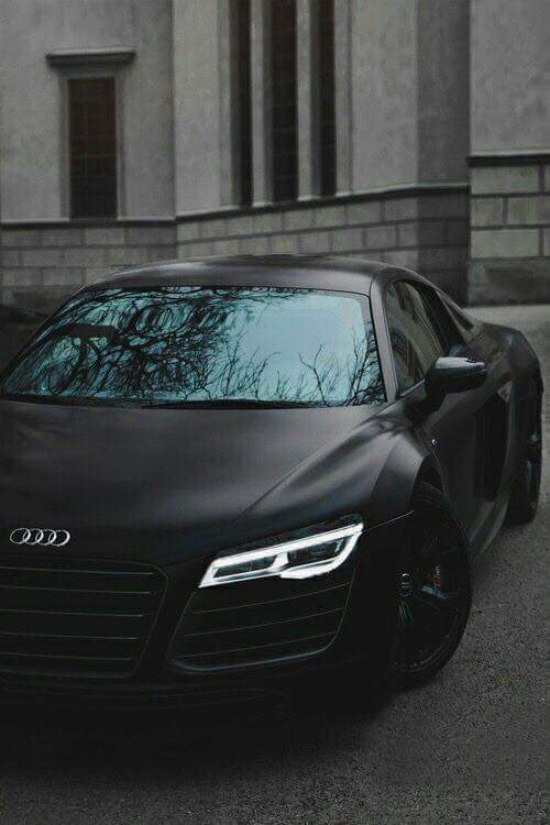 Mat Black Audi Car In Rain Most Expensive And Beautiful Cars Sid