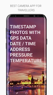 Timestamp - GPS Camera PRO Screenshot