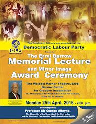 The Errol Barrow Memorial Lecture and Mirror Image Award Ceremony