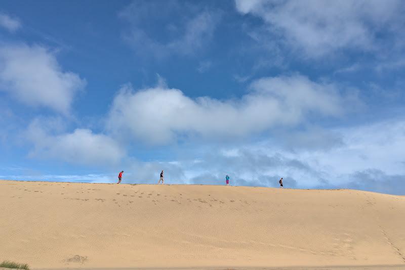 Calare pe dunele de nisip din Maspalomas.