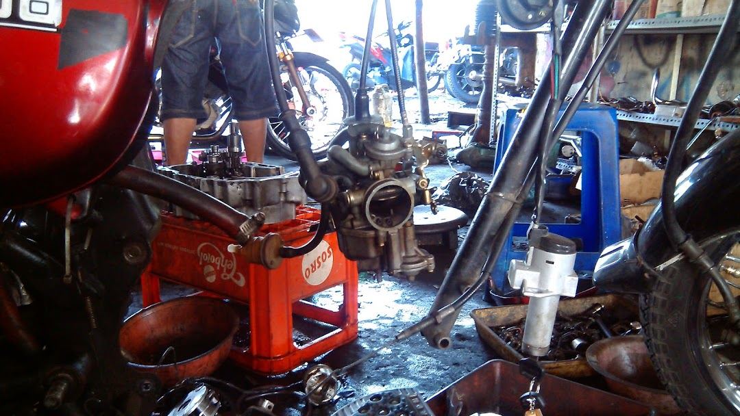 Bengkel Modifikasi Cb K Dron Bengkel Sepeda Motor
