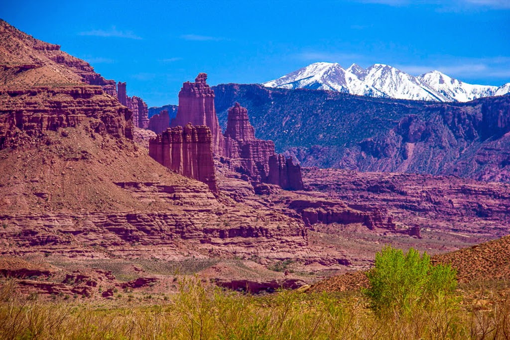 """Fisher Towers"" by Jon Swensson"