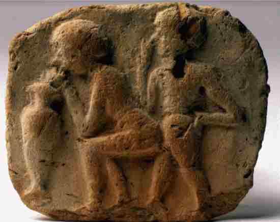 tablilla babilonica erotica museo