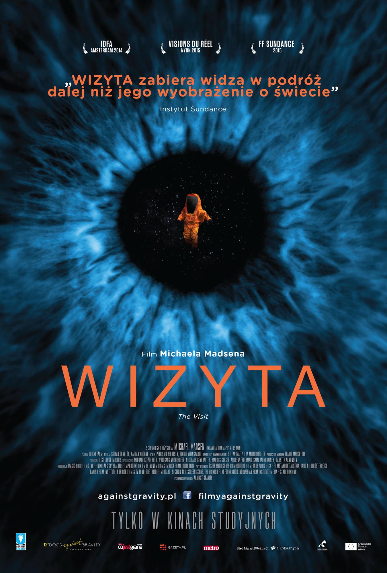 Ulotka filmu 'Wizyta (przód)'