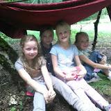 Groep 3 in het bos
