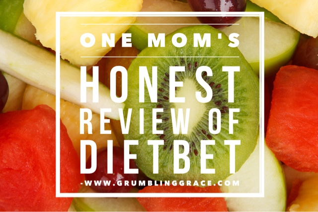 Grumbling Grace: DietBet - One Mom's Honest Review