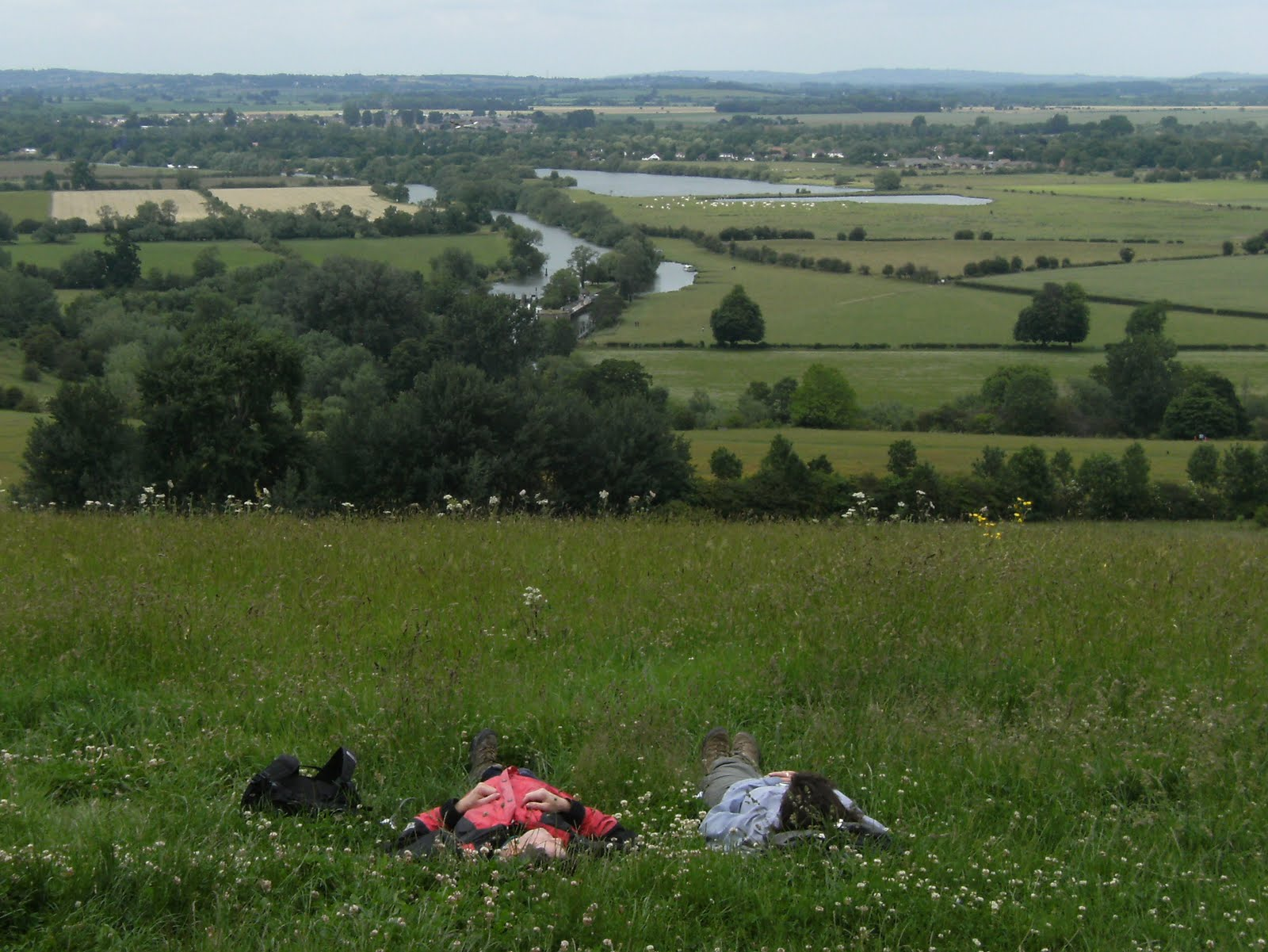 1006190023 View from Round Hill, Wittenham